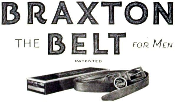 The Braxton Belt for Men