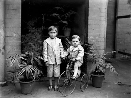 Two Boys and a Tricycle