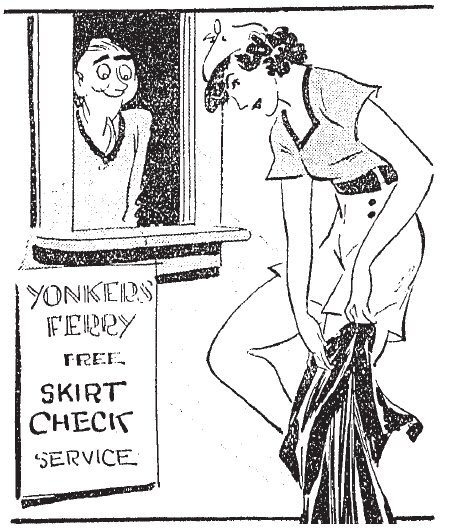 Yonkers Ferry Free Skirt Check Service