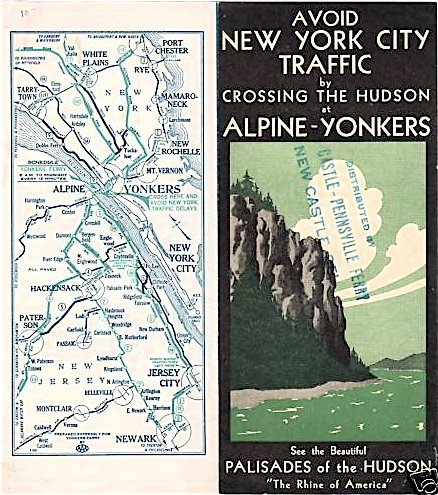 Alpine-Yonkers Ferry Brochure Cover