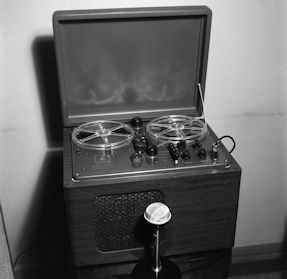 A 1949 Reel-to-Reel Tape Recorder