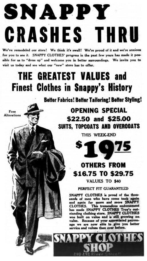 Snappy Clothes - Troy, NY