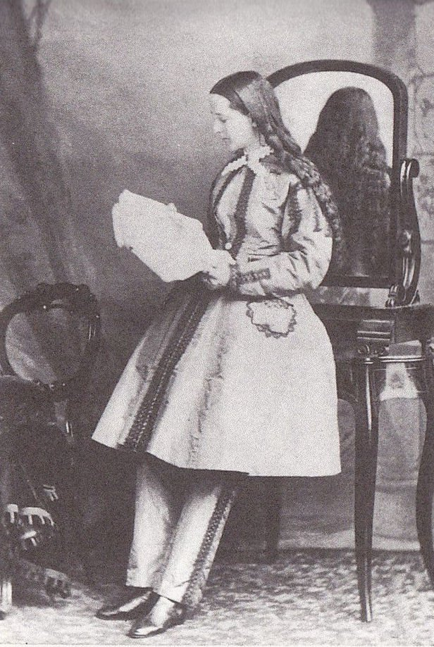 Dr. Mary Edwards Walker c.1865 Wearing Her Custom-Designed Military Uniform.