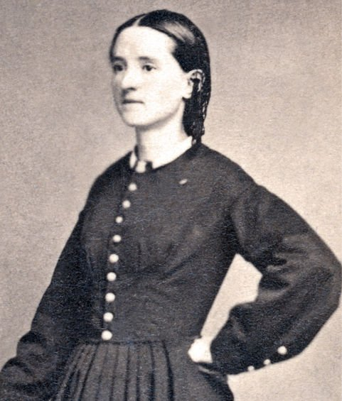 Dr. Mary Edwards Walker while she was still a young woman.