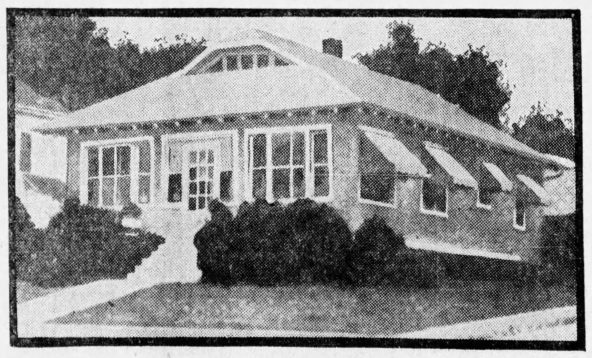 Zink Home in 1930