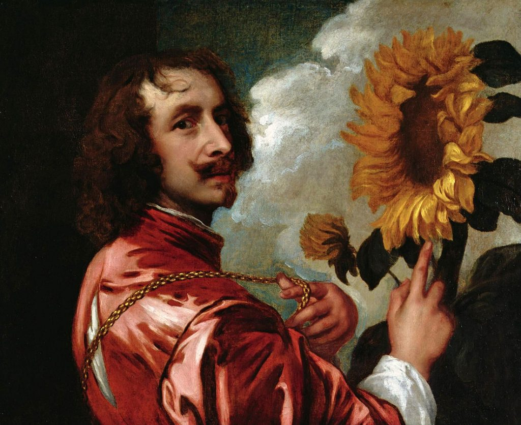 Anthony van Dyck Self Portrait