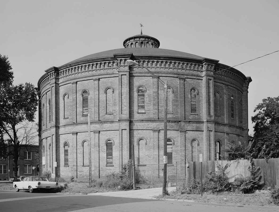 Troy Gasholder Building