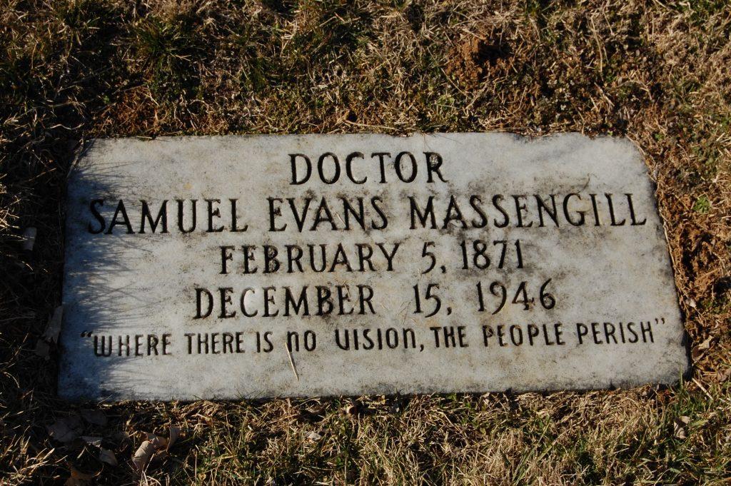 Samuel Evans Massengill Grave