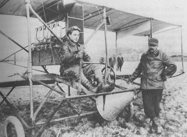 Tony Jannus and Albert Perry