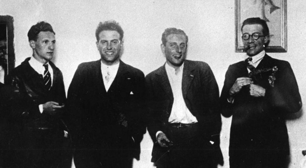 Four Crew Members of the Yellow Bird