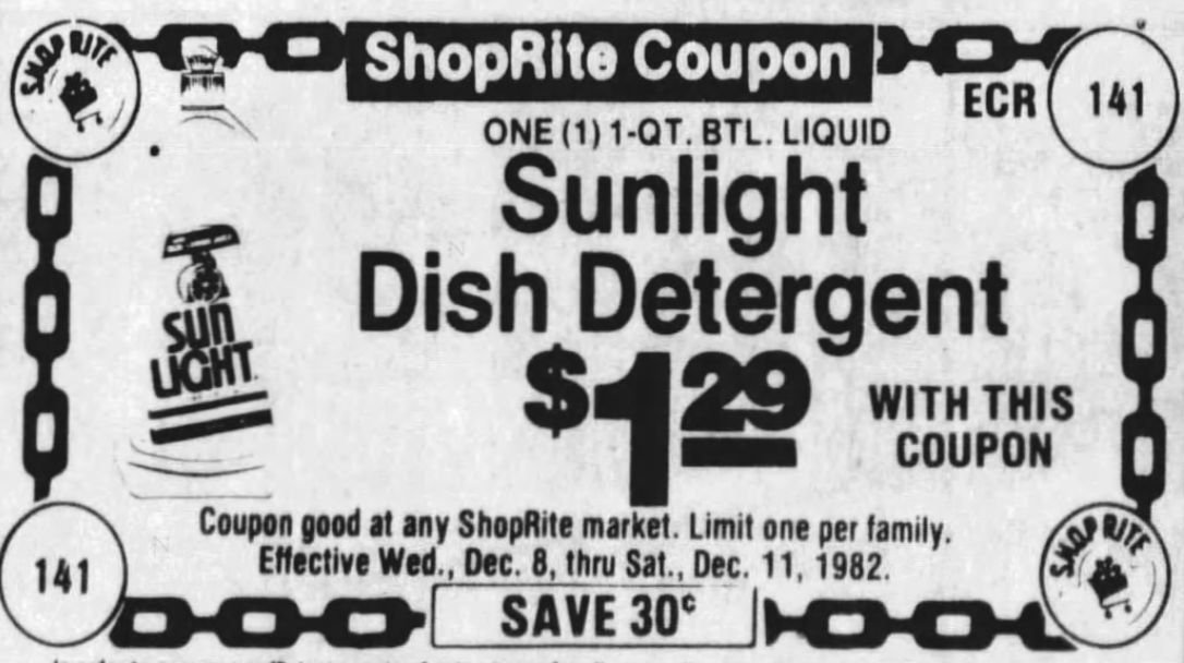 Sunlight Coupon