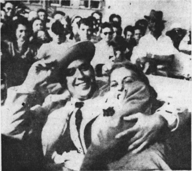 Dan Wicker and Dorothy Lawlor