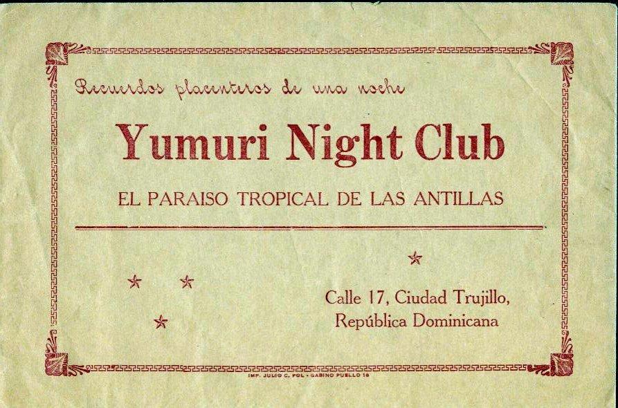 Dorothy Lawlor Night Club Card