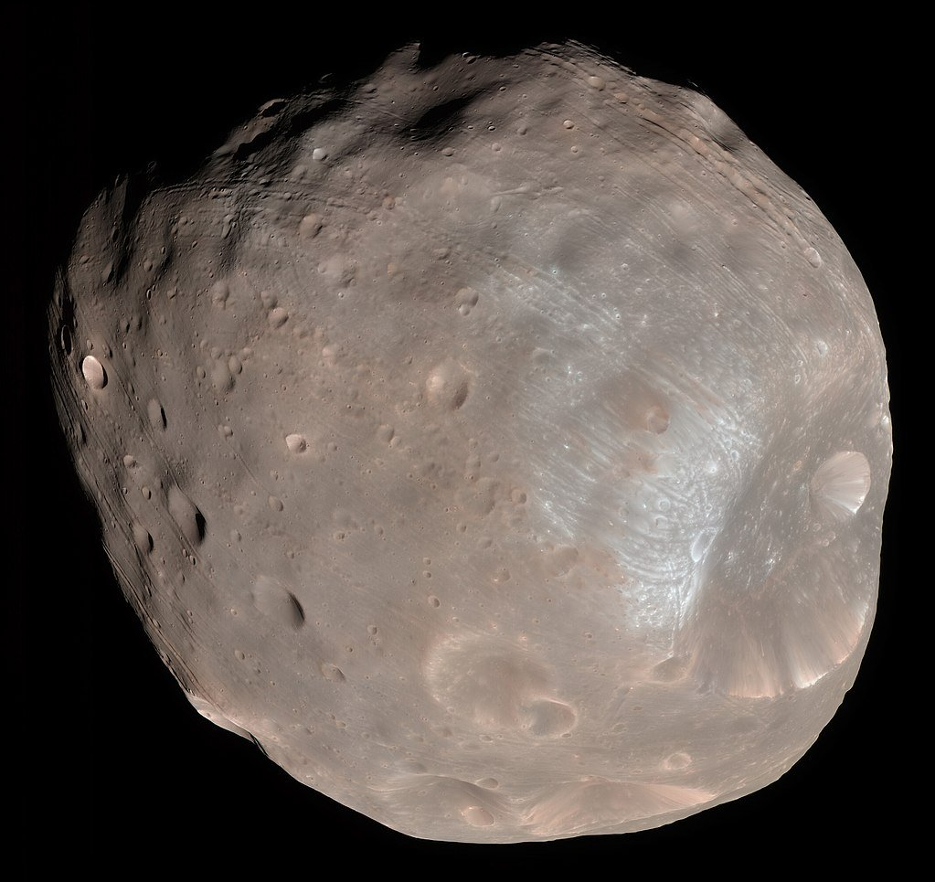 Color image of Phobos