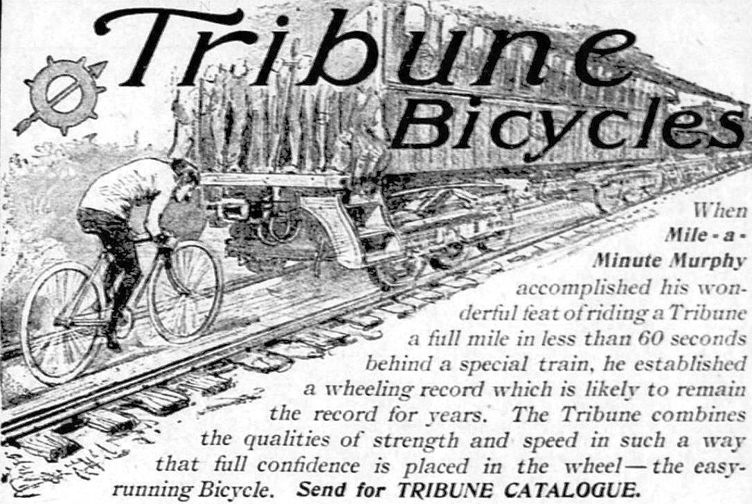 Tribune Bicycles Ad