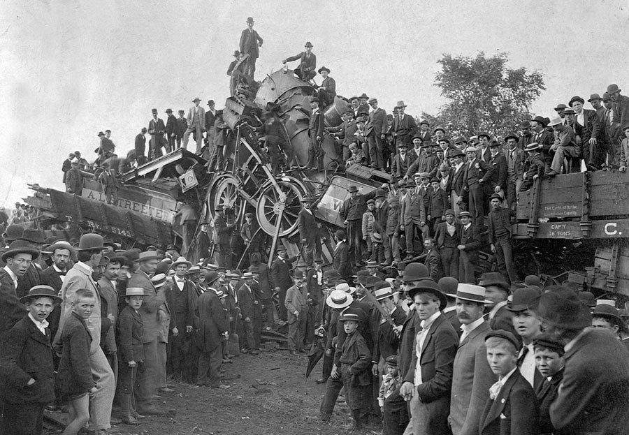 Buckeye Park Crash 1896