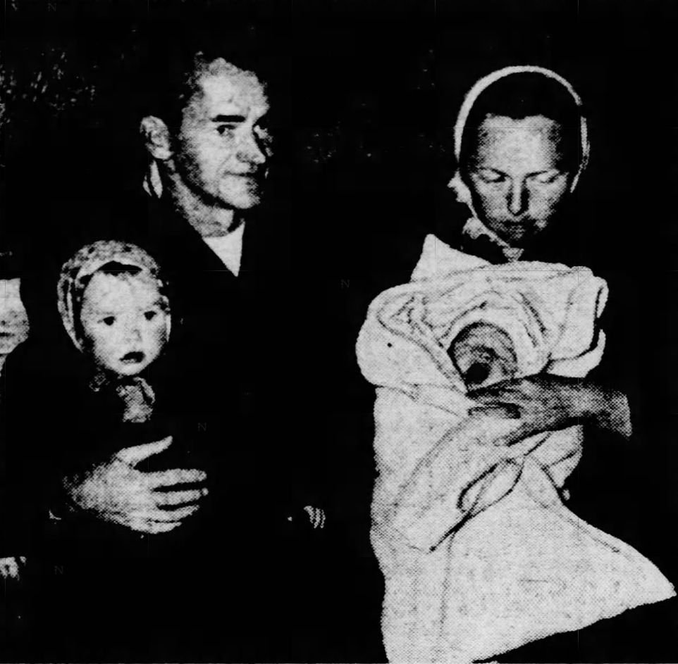Robert and Jean Lillibridge with their children.