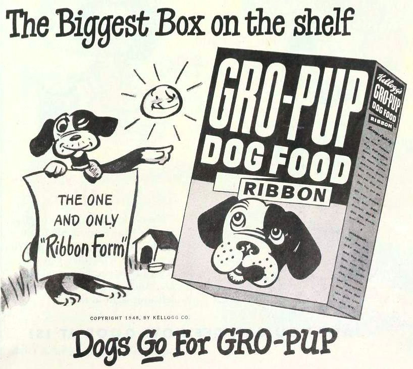 Kellogg's Gro-Pup Dog Food