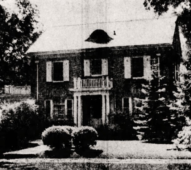 Dr. Hedberg's home at 1714 Princeton Avenue in St. Paul