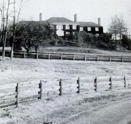 The 340-acre farm owned by William A. Phillips where the bulk of the stolen money was found.