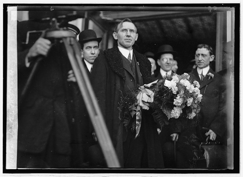 John Butch McDevitt in Washington, DC. (Library of Congress image.)