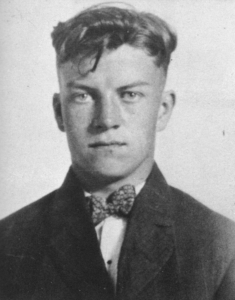 Stephen Dennison at age 17.