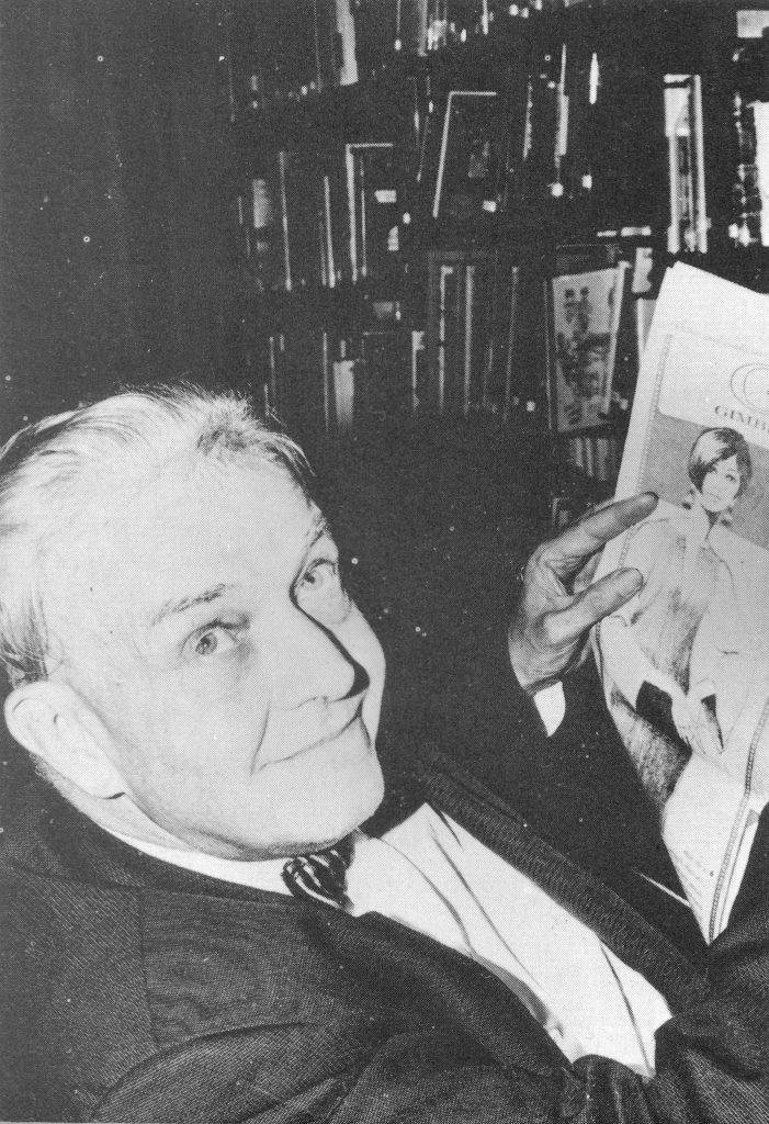 Stephen Dennison in 1970.