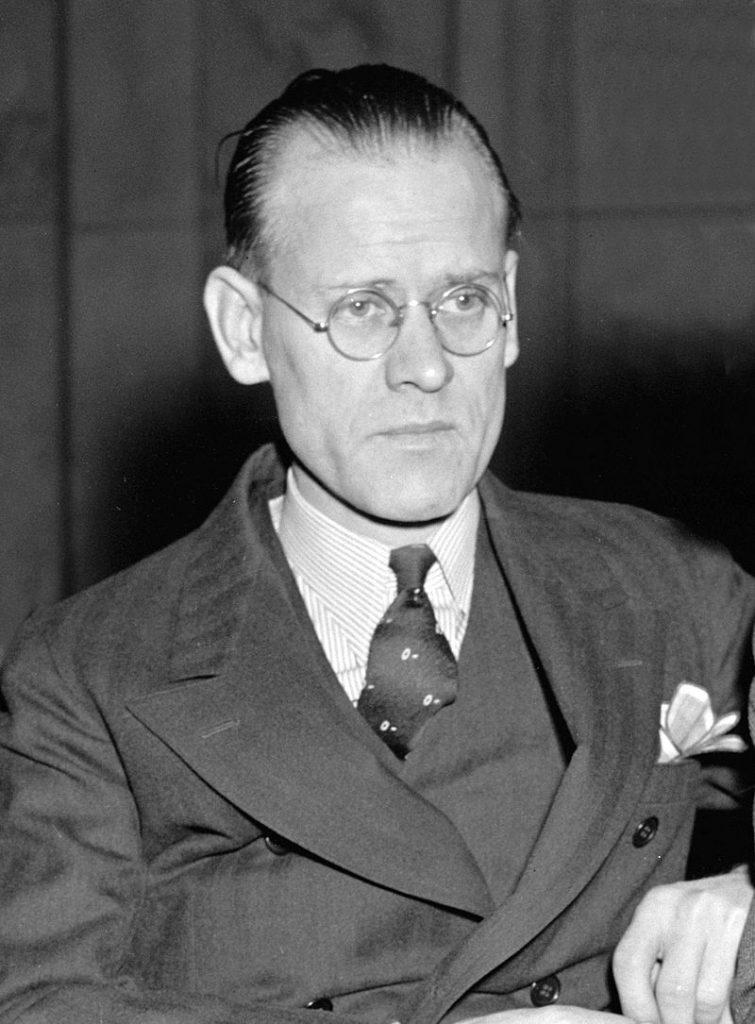Philo T. Farnsworth, inventor of modern television.