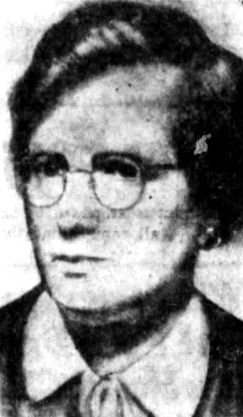 Ms. Ann Hale Jr. Image appeared on page 2 of the May 14, 1954 issue of the Boston Globe.
