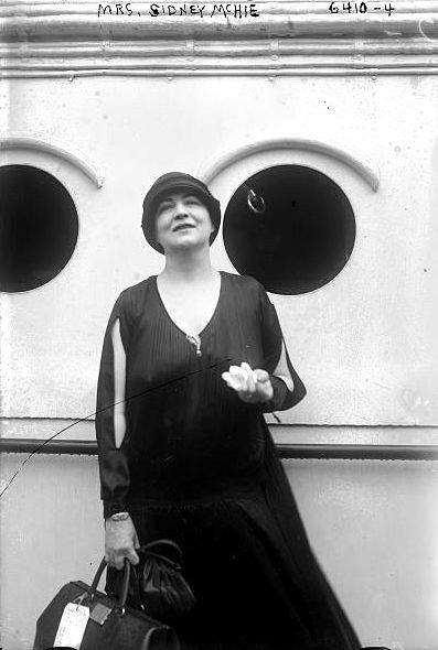 Isabel McHie in 1925