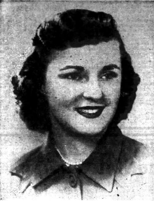 Helen Vasko at the time of her engagement.