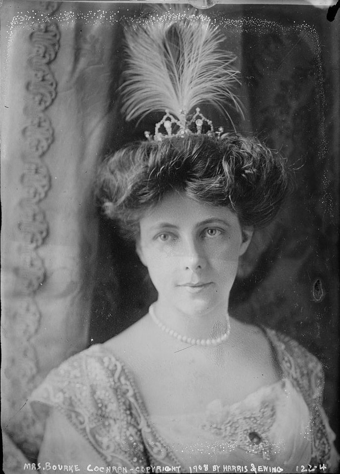 Annie Louisa Ide Cockran in 1908 from the Library of Congress.