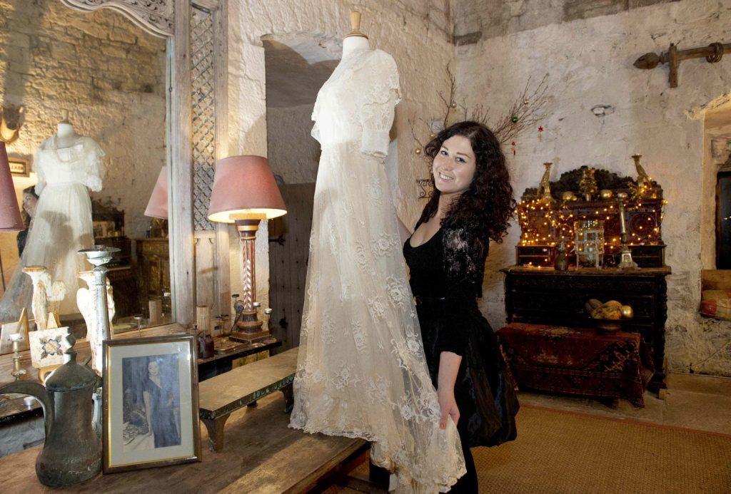 Heather Finn in Oranmore Castle