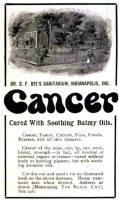 1899-12-BlackCat-Magazine-pxx-B.F.-byes-Sanitarium-Cancer-Cure-Ad