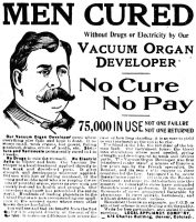 Vacuum Organ Developer, Omaha Daily Bee, March 10, 1901, page 9.