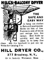 Hills Balcony Dryer, The Sun, December 5 1903, page 13.