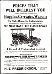 Winton Peerless Franklin Automobiles, Omaha Daily Bee, April 3, 1904, page 13.