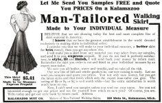 1908_10_Cosmopolitan_p168-Kalamazoo-Suit-Man-Tailored-Walking-Skirt-Ad