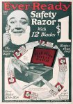 American Ever-Ready Safety Razor Ad, Railroad Man's Magazine, October 1909, page 212.