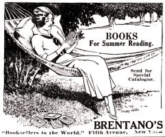 Brentano's Book Store, Brooklyn Daily Eagle - Summer Resort Directory, June 6, 1915.