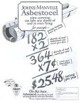 Asbestos Asbestocel by Johns-Manville Ad, Saturday Evening Post, February 5, 1927, page 124.