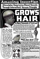 Rand Hair Growth Ad, Modern Mechanix, March 1938, page 15.