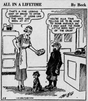 All in a Lifetime by Beck Comic 1939