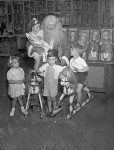 Santa visiting children at Grace Brothers department store in Sydney, Australia in November 1946.