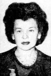 Genevieve Rivera. Image appeared on page 3 of the June 25, 1947 issue of the New York Daily News.