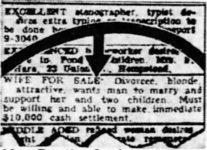 Dorothy Lawlor's $10,000 Want Ad