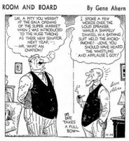Room and Board Comic