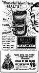 Velvet Freeze Ice Cream advertisement.