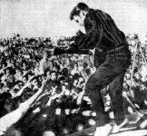 Elvis Presley in 1956.