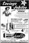 Apollo Savings & Loan ad from the March 4, 1959 issue of the Suburbanite Economist